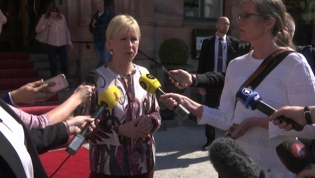 """Wallström: """"Vi ska vända på varje sten"""""""