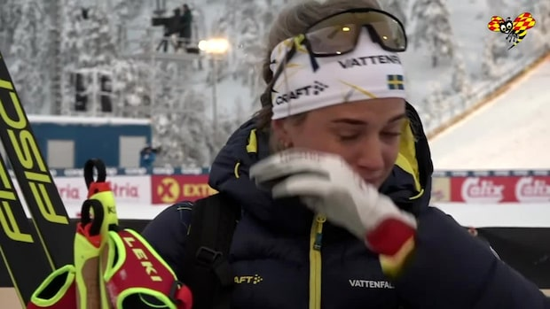 """Anna Dyvik i tårar: """"Nu vill jag bara åka härifrån"""""""