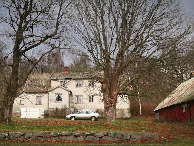 Huset renoverades senast 1945.