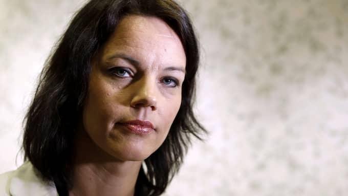 S-debattören Veronica Palm är positiv till sex timmars arbetsdag. Foto: FREDRIK PERSSON / SCANPIX / SCANPIX SWEDEN
