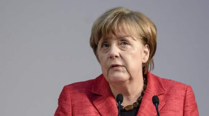 Tysklands förbundskansler Angela Merkel besöker Donald Trump i dag. Foto: Clemens Bilan/Epa/TT