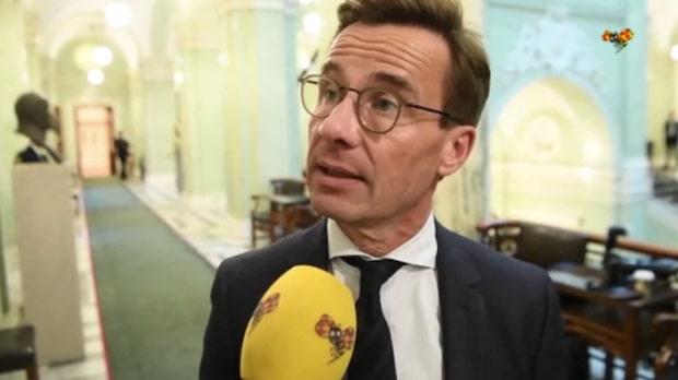 Ulf Kristersson: Inte orolig över Centern och Liberalerna