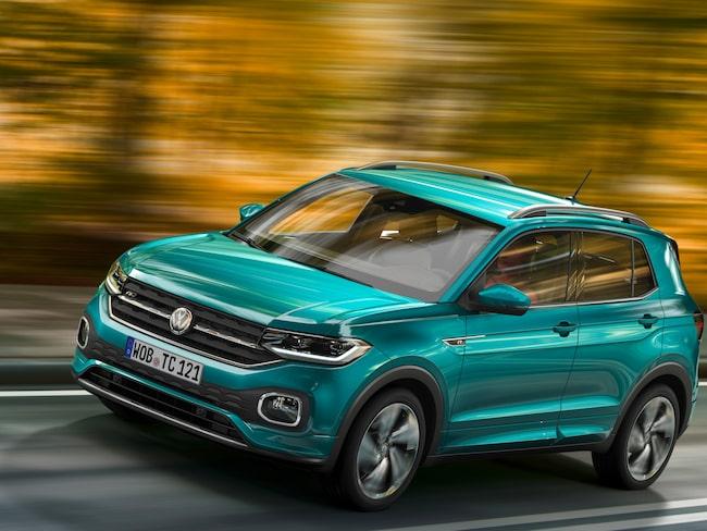 Volkswagen T-Cross blir märkets minsta suv.