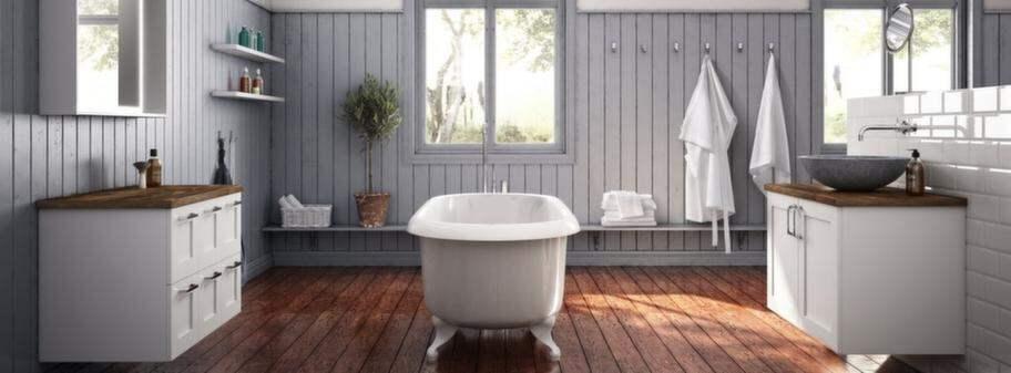 16 lyxiga badrum i 16 olika stilar& storlekar Leva& bo