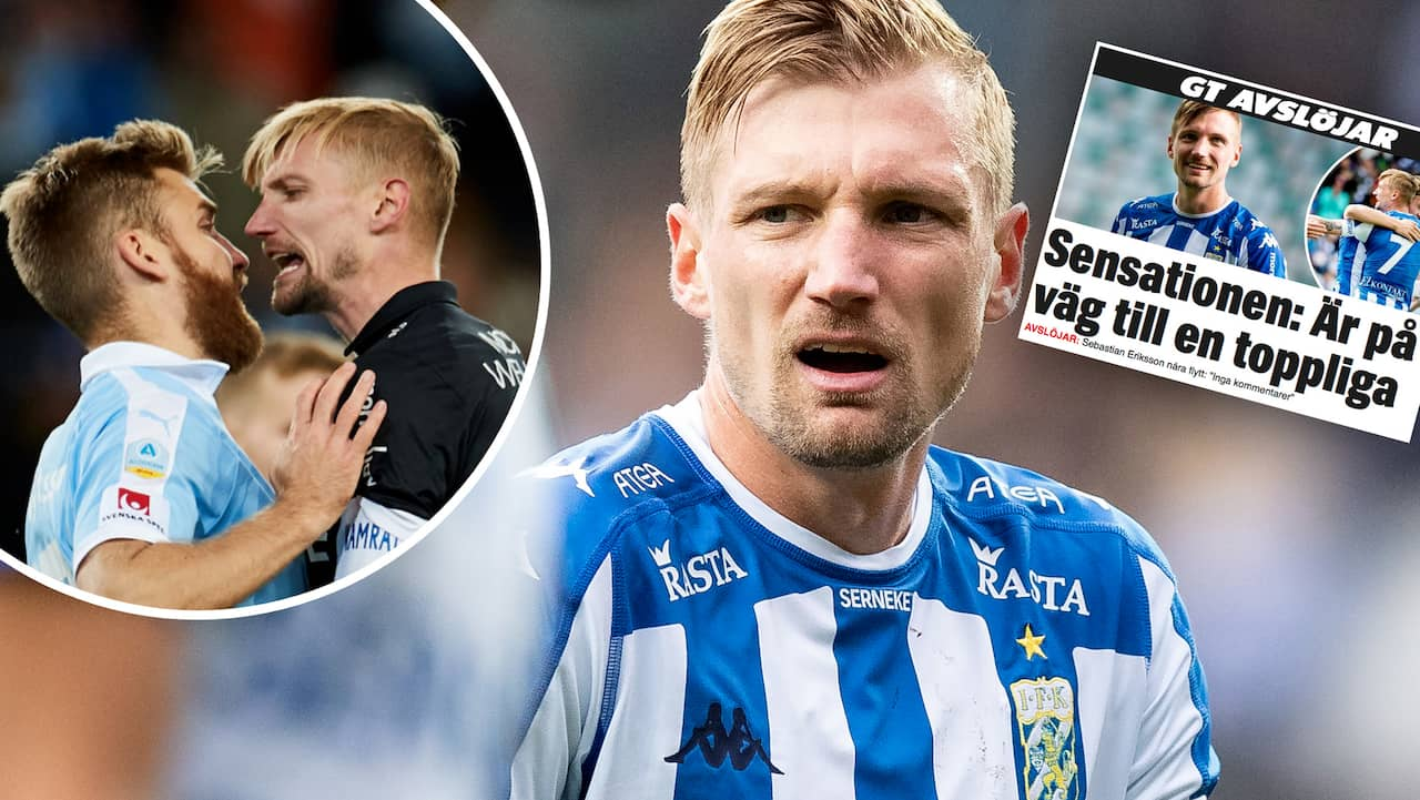 Sensationella affären klar: Blåvitt-profilen Sebastian Eriksson till Serie A