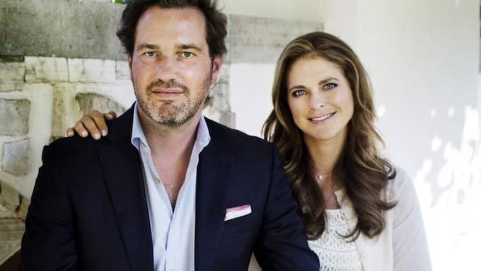 """Parhästar. Prinsessan Madeleine har tagit plats i två av Chris företag. """"En teknisk formalitet"""", säger O'Neill som hävdar att prinsessan inte är inblandad i hans verksamhet. Foto: Linus Sundahl/Svenska Dagbladet"""
