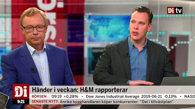 """Wendel: """"H&M delar ut för mycket pengar"""""""