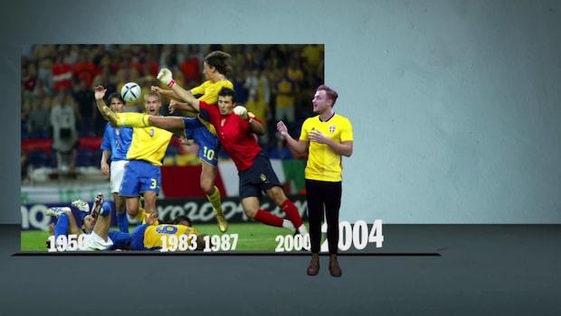 Zlatans klack och Ravellis superräddning – Sverige och Italiens starkaste möten