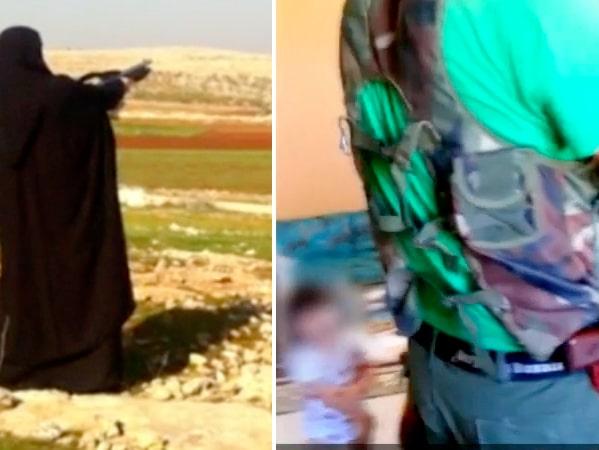 Unika filmer från svenska IS-familjens vardag i Syrien