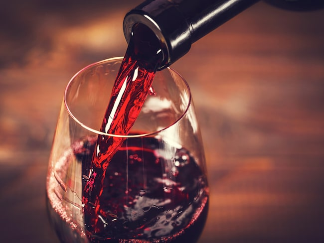 rödvin och högt blodtryck