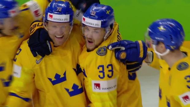 TV: Se alla mål från Sveriges 6-0-kross