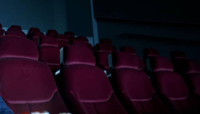 Offret överfölls i en biosalong, dock inte denna. Foto: Sara Strandlund