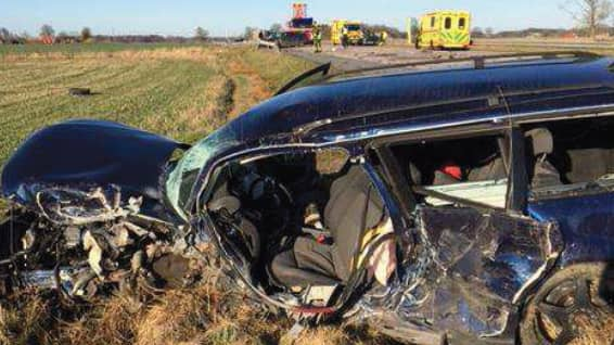 Olyckan slutade med att småbarnspappan Jimmy miste livet. Foto: POLISEN
