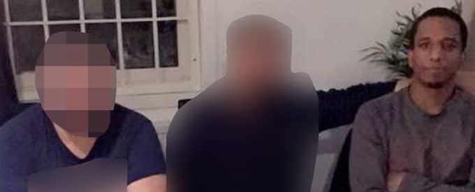 Den 30-årige företagaren poserar på bild med gangsterledaren Merhawi Aregai. Foto: Polisen
