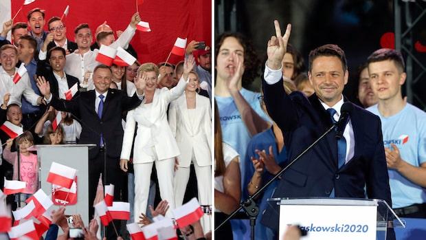 Rysare i Polens presidentval