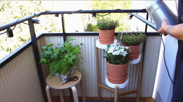 Enkla knep för en härlig, mysig balkong!