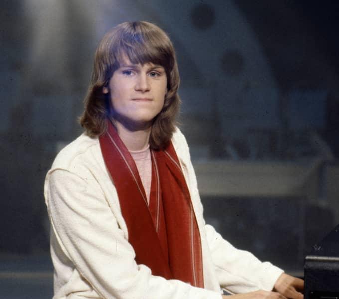 Ted Gärdestad melodifestivalen 1979. Foto: CHARLES HAMMARSTEN / IBL