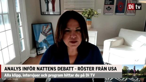 """Patti Solis Doyle: """"Få tillfällen kvar att ändra på valutgången"""""""