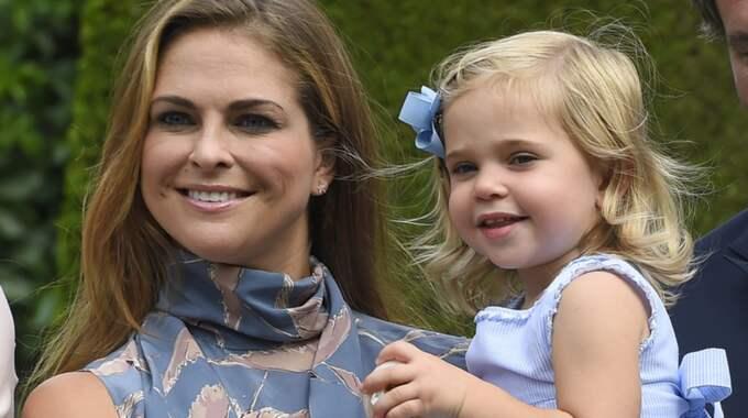 Prinsessan Leonore är mer bestämd än prins Nicolas enligt Chris. Foto: Karin Törnblom