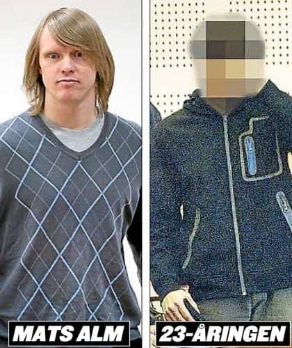 Mats Alm misstänks för mordet på Linda Chen och 23-åringen dömdes för dådet på en parkeringsplats i Landskrona. Foto: Tommy Pedersen, Lasse Svensson