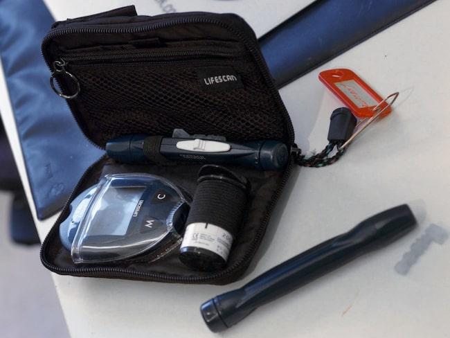 Den som har diabetes typ 1 behöver ta insulin resten av livet.