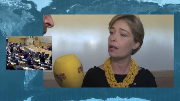 Annika Strandhälls hopp efter att Löfven fallit