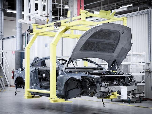 Kommande elbilar från Polestar ska bland annat utvecklas i Storbritannien.