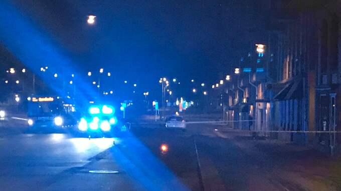 Explosionen vid Syndikalistisk forum ägde rum den 11 november förra året. Nazistiska Nordiska motståndsrörelsens ledare i Göteborg Viktor Melin, 23, sitter häktad för sprängattentatet mot vänsterlokalen. Säkerhetspolisen Säpo utreder Foto: Marcus Wulcan