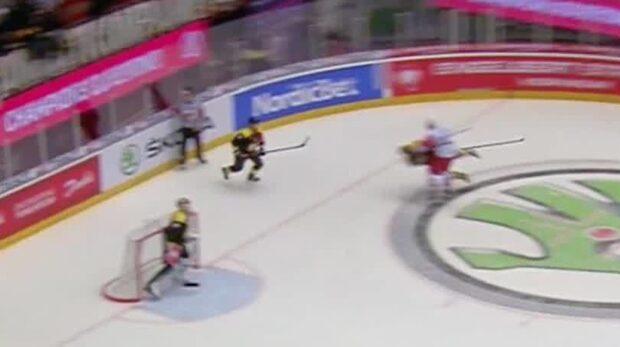 """Se brutala huvudtacklingen mot Brynäs-spelaren: """"Fulaste jag sett"""""""