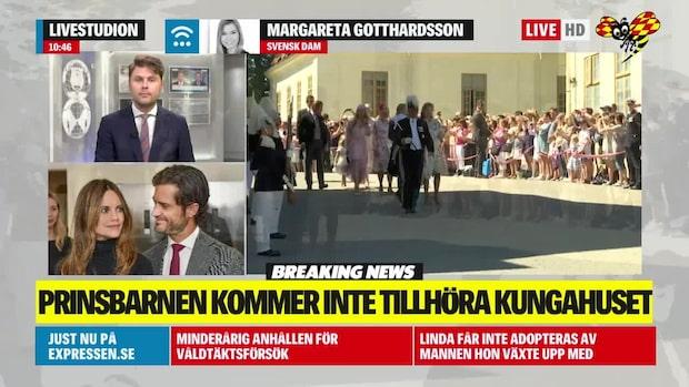 Margareta Gotthardsson: Fått en hint om det tidigare