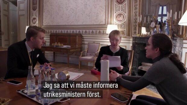 """Wallströms tårar efter dödshoten: """"Hemskt"""""""