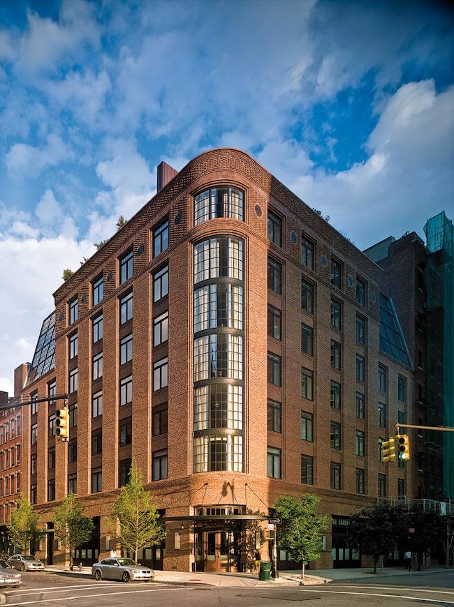 The Greenwich Hotel, Lower Manhattan.
