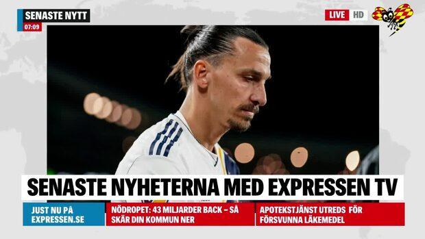 Zlatan utslagen – nu kan karriären vara över