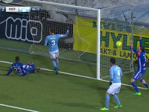 Se galna avslutningen när Malmö tappade poäng