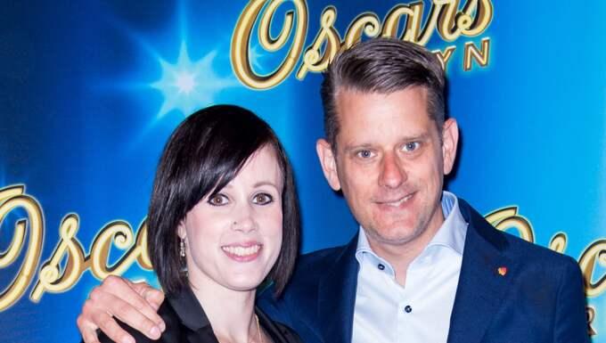 Marcus Birro har förlovat sig med sin Michaela Kälveskog Foto: Julia Dansarie