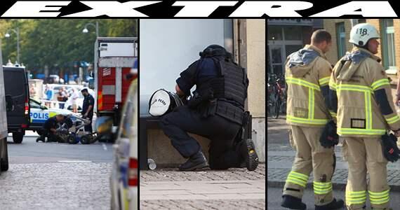 Cybergymnasiet i goteborg utrymt efter detonation