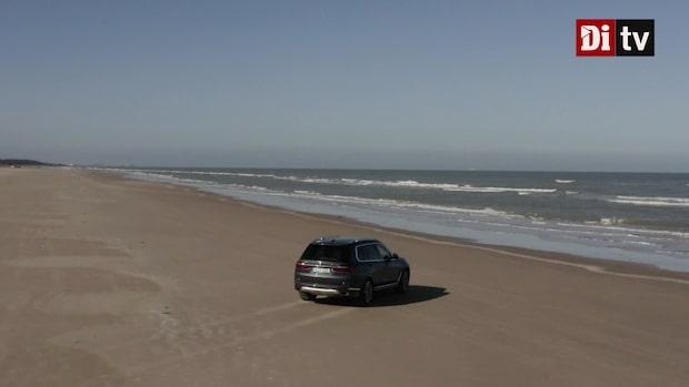 Se provkörningen av jättesuven BMW x7