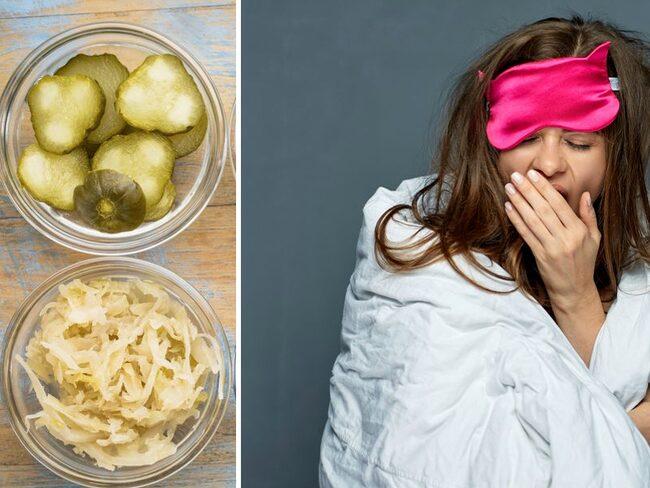 Mat som påverkar tarmfloran kan påverka din sömn