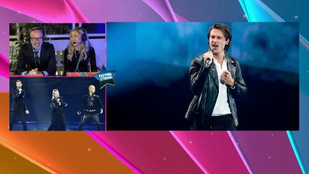 Svenske Victor Crone tävlar för Estland i Eurovision song contest