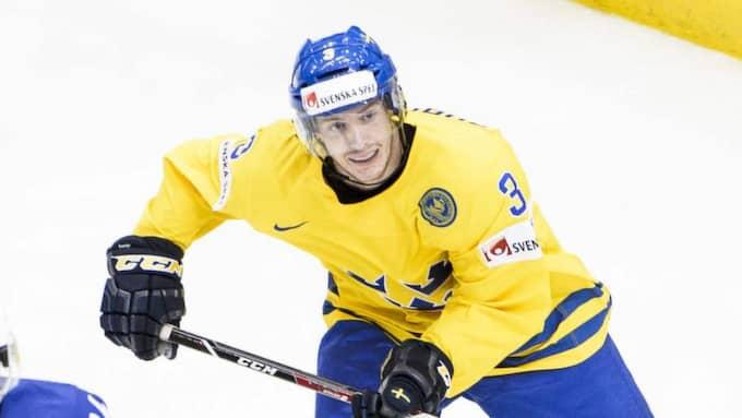 Niclas Burström i Tre Kronor. Foto: Olle Wande