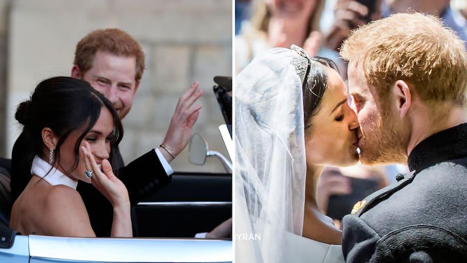 Prins Harry rörde bröllopsgästerna till tårar när han förklarade sin