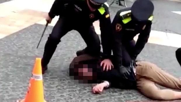 Här grips mordmisstänkte svensken i Barcelona