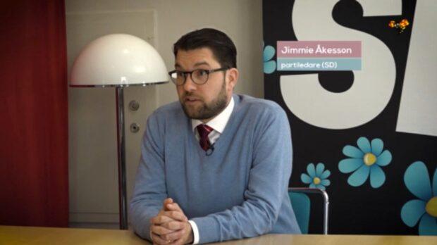 Jimmie Åkessons nya flört med Moderaterna