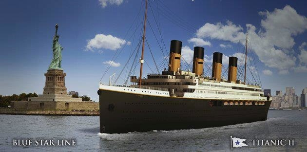Titanic II ska göra sin jungfruresa år 2022.