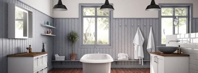 Det finns mycket du kan göra för att ge ditt badrum en makeover utan att det kostar massor.