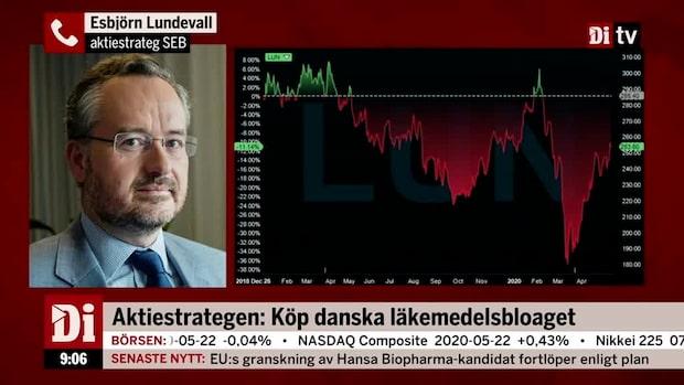 SEB:s aktiestrateg: Köp danska läkemedelsbolaget