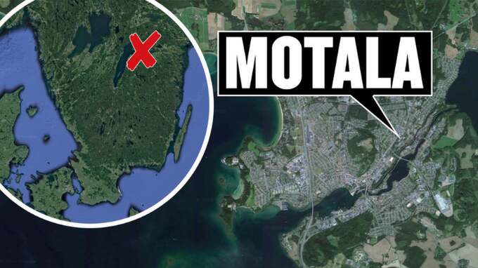 Attacken skedde i Motala.