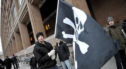 Medlemsantalet i Piratpartiet ökar. Foto: Bertil Ericson / Scanpix