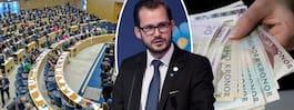 Riksdagsledamot köpte ogiltiga sedlar och försökte lösa in dem