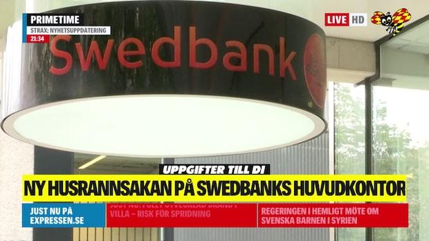 Ny husrannsakan på Swedbank